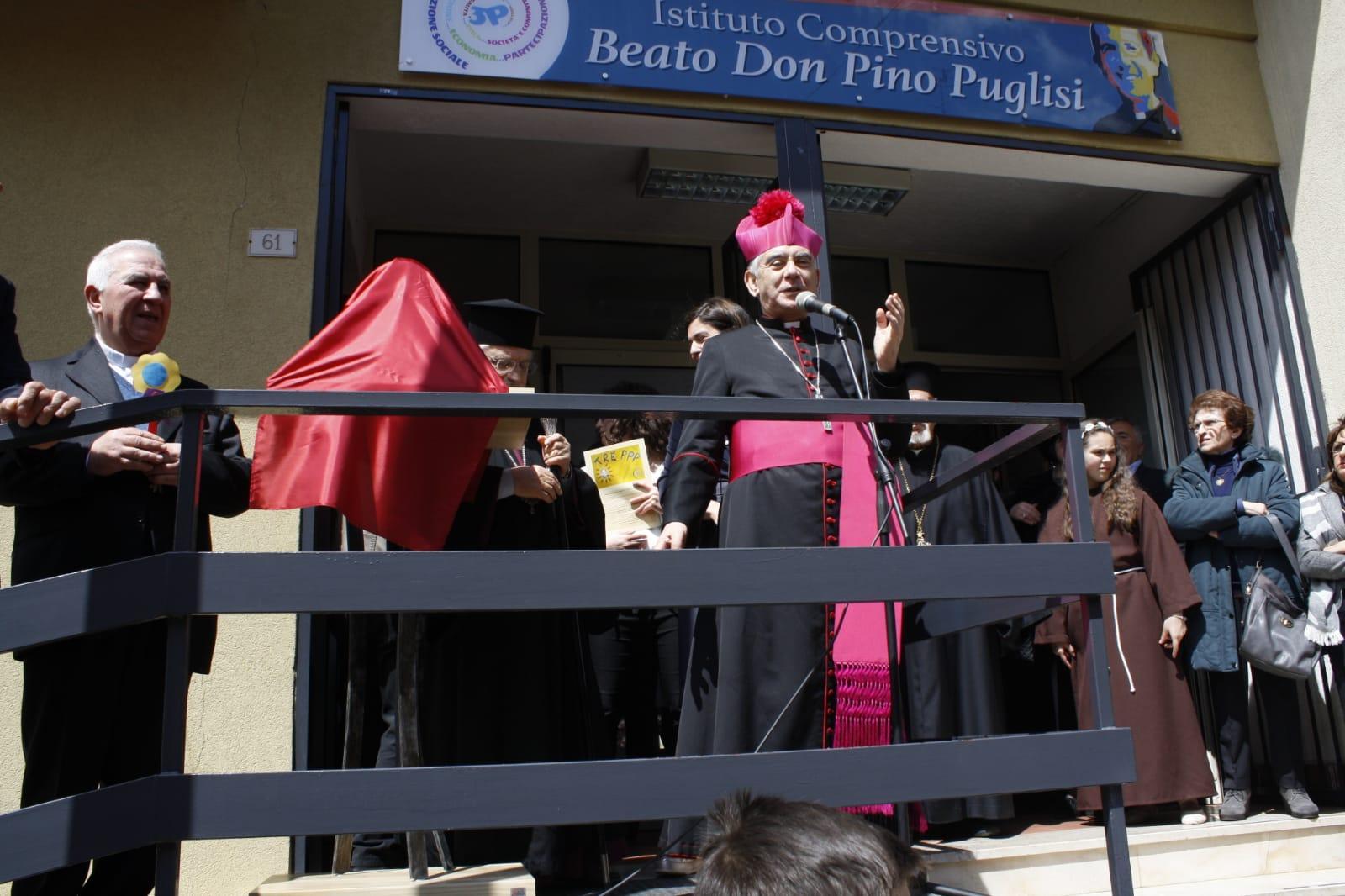 Intitolazione scuola di Villafrati- Mezzojuso a Padre Pino Puglisi (8)