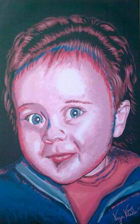 Un ritratto di Vitale Virga